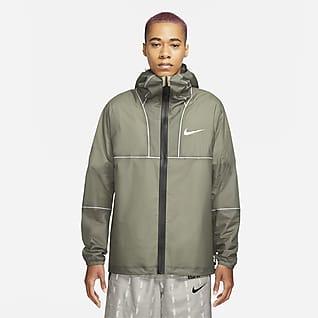 Nike iSPA เสื้อแจ็คเก็ตพับเก็บได้น้ำหนักเบาผู้ชาย