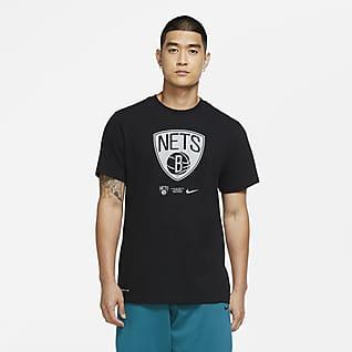 Brooklyn Nets Logo Tee-shirt Nike Dri-FIT NBA pour Homme