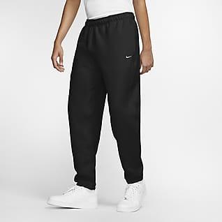 Nike Solo Swoosh กางเกงฟลีซขายาวผู้ชาย