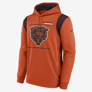 Nike Therma Sideline (NFL Chicago Bears) Men's Pullover Hoodie