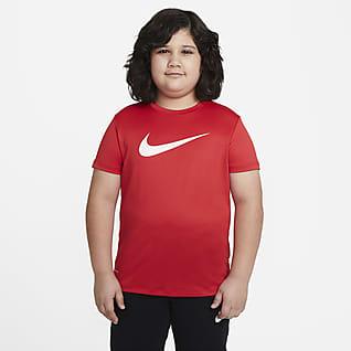 Nike Dri-FIT Playera de entrenamiento para niño talla grande (talla extendida)