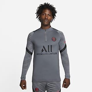Paris Saint-Germain Strike Nike Dri-FIT-fodboldtræningstrøje til mænd