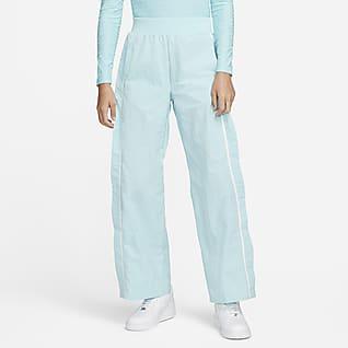 Nike Sportswear Icon Clash Geweven wide leg damesbroek
