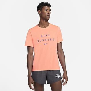 Nike Dri-FIT Miler Run Division เสื้อวิ่งผู้ชาย