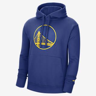 Golden State Warriors Essential Nike NBA-s belebújós, kapucnis férfipulóver