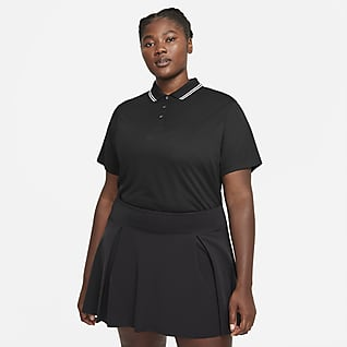 Nike Dri-FIT Victory Γυναικεία μπλούζα πόλο για γκολφ (μεγάλα μεγέθη)