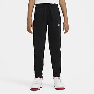 Nike Sportswear Club Spodnie z dzianiny dresowej dla dużych dzieci (chłopców)