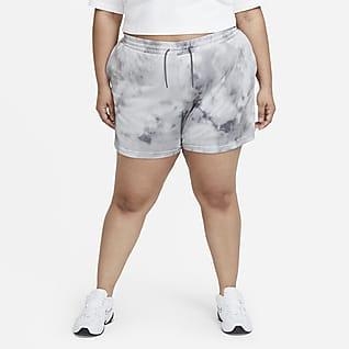 Nike Sportswear Icon Clash Calções para mulher (tamanhos grandes)