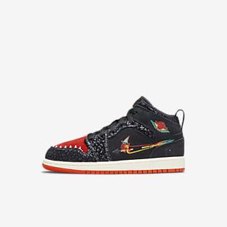 Jordan 1 Mid SE Younger Kids' Shoes