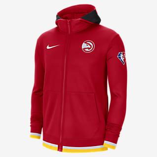 Atlanta Hawks Nike Showtime Men's Nike Dri-FIT NBA Full-Zip Hoodie