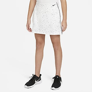 Nike Dri-FIT Big Kids' (Girls') Printed Golf Skirt