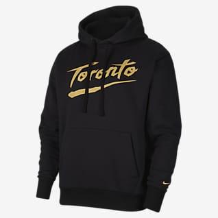 Toronto Raptors City Edition Logo Sudadera con capucha sin cierre Nike NBA para hombre