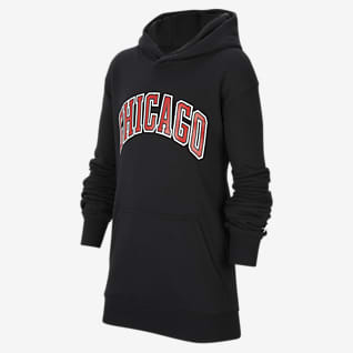 Chicago Bulls Statement Edition Older Kids' Jordan NBA Pullover Hoodie