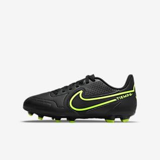 Nike Jr. Tiempo Legend 9 Club MG Little/Big Kids' Multi-Ground Soccer Cleat
