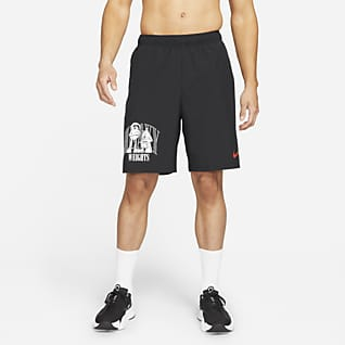 Nike Dri-FIT Pánské tkané tréninkové kraťasy s grafikou