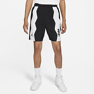 Jordan Dri-FIT Zion กางเกง Performance ขาสั้นผู้ชายแบบทอ
