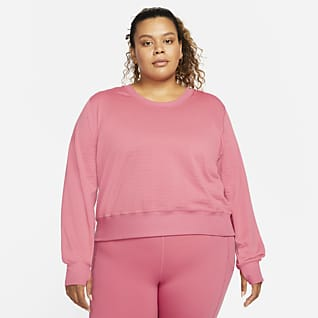 Nike Therma-FIT Element Women's Running Crew Top (Plus Size)