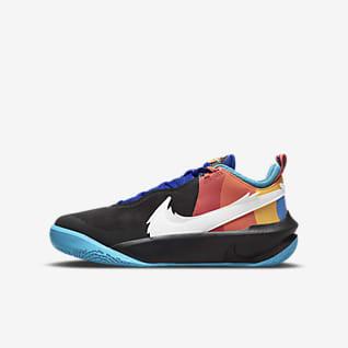 Nike Team Hustle D 10 SE x Space Jam: A New Legacy Calzado de básquetbol para niños talla grande