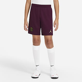 Paris Saint-Germain 2020/21 Stadium Third Older Kids' Football Shorts
