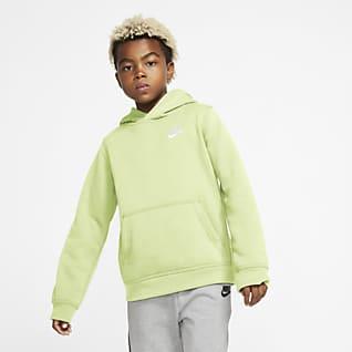 Nike Sportswear Club Older Kids' Pullover Hoodie