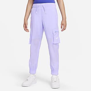 Nike Sportswear Big Kids' (Girls') Woven Cargo Pants