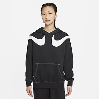 Nike Sportswear Swoosh Women's Oversized Fleece Hoodie