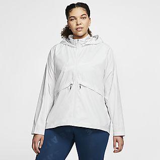 Women's Plus Size Running Jackets & Vests.