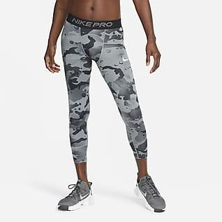 Nike Pro Leggings camufladas a 3/4 para homem