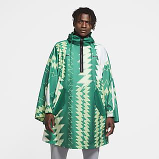 Nigérie Pánské tkané pončo