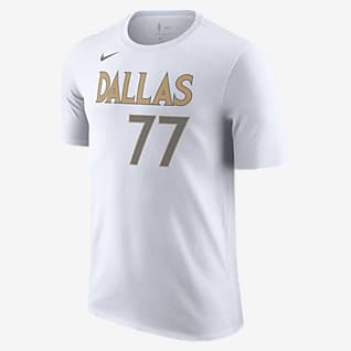 Dallas Mavericks City Edition Nike NBA-T-Shirt für Herren