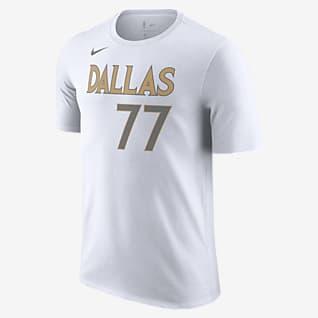 Dallas Mavericks City Edition T-shirt Nike NBA - Uomo