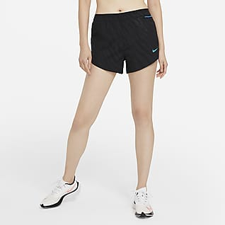 Nike Tempo Luxe Icon Clash Hardloopshorts voor dames