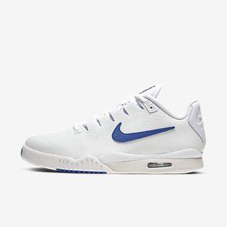 Men's Tennis Shoes Nike Tennis Shoes Clay Court Tennis Blue