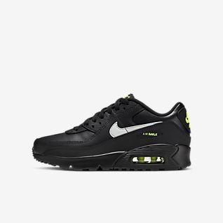 Nike Air Max 90 Mænds Sko Sort Blå :