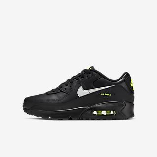 Tenis Nike Air Max 90 Essent Preto+amarelo Cross Sports
