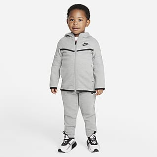 Nike Sportswear Tech Fleece Ensemble sweat à capuche et pantalon pour Petit enfant