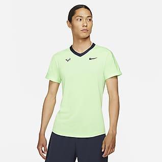 NikeCourt Dri-FIT ADV Rafa Camisola de ténis de manga curta para homem