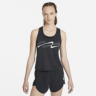 Nike Dri-FIT Retro Γυναικεία φανέλα για τρέξιμο