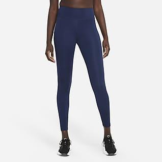 Nike Dri-FIT One Icon Clash Leggings con gráfico de tiro medio para mujer