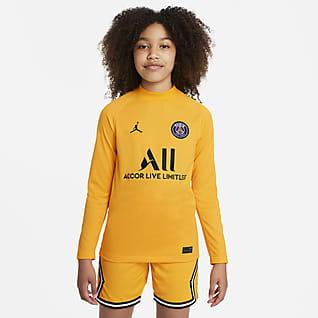 Paris Saint-Germain 2021/22 Stadium Goalkeeper hazai Jordan Dri-FIT futballmez nagyobb gyerekeknek