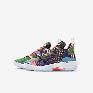 Jordan Why Not Zer0.4 (GS)  大童篮球童鞋