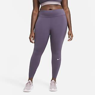 Nike Epic Luxe Leggings de running con bolsillo, de tiro medio para mujer (talla grande)
