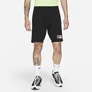 Nike F.C. 男款 Fleece 足球短褲