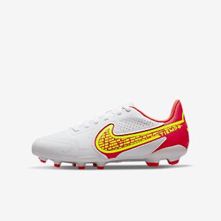 Nike Jr. Tiempo Legend 9 Club MG 小/大童多種場地足球釘鞋