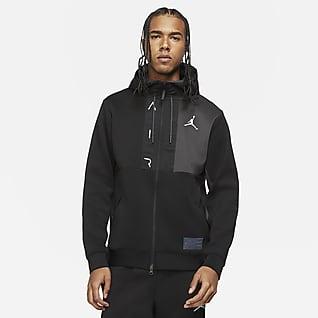 Jordan Air Sweat à capuche en tissu Fleece à zip pour Homme