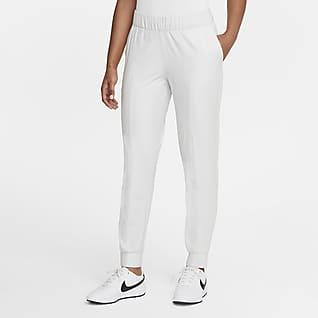 Nike Dri-FIT UV Victory Pantalones de entrenamiento de golf de algodón a cuadros para mujer