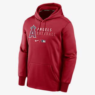 Nike Therma (MLB Los Angeles Angels) Men's Pullover Hoodie