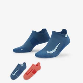 Nike Multiplier ถุงเท้าวิ่งแบบซ่อน (2 คู่)