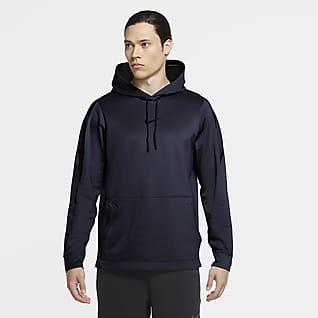 Nike Pro Kapucnis, belebujós férfipulóver