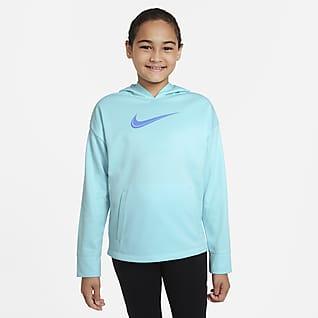Nike Therma-FIT Big Kids' (Girls') Training Hoodie